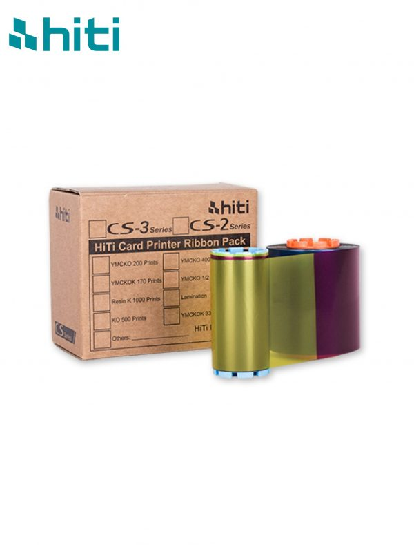 Ribbon HITI CS 200e Color - Series YMCKO 400 Print