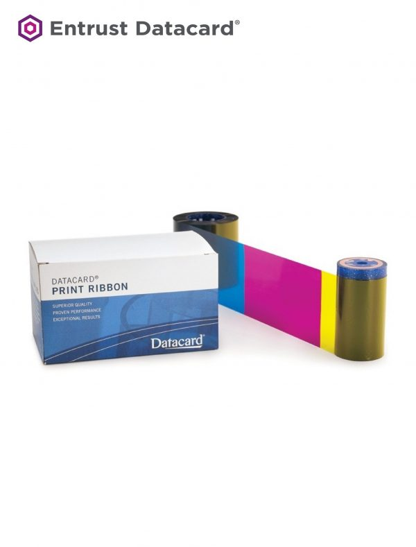 Ribbon Datacard CD 168 Color - YMCKT 535700-001-R092