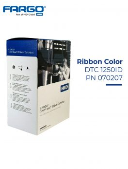 Ribbon Fargo DTC1250ID Color Ribbon | PN : 070207 YMCKO ( 250 Images )